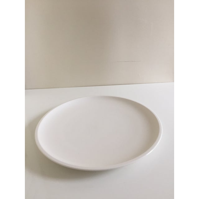 Modern Villeroy & Boch Artesano White Premium Porcelain Plates - A Pair For Sale - Image 3 of 7