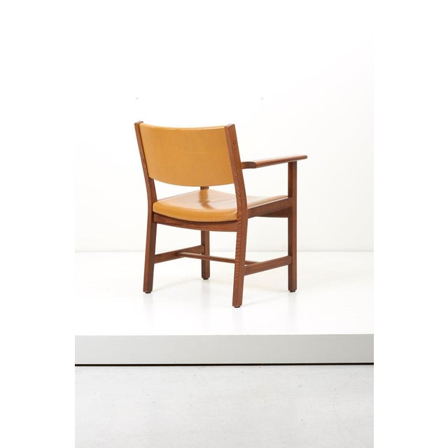 Brown Set of Ten Ge 1960s Armchairs in Leather by Hans Wegner for by Getama, Denmark For Sale - Image 8 of 13