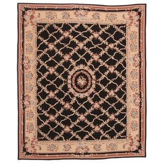 RugsinDallas Chinese Handmade Needlepoint Carpet - 8' X 10' For Sale