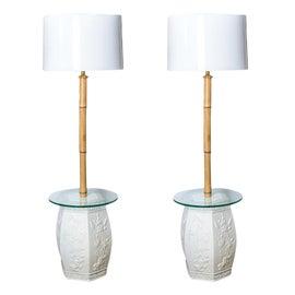 Image of Hollywood Regency Floor Lamps