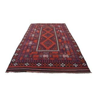 Flatweave Afghan Tribal Kilim For Sale