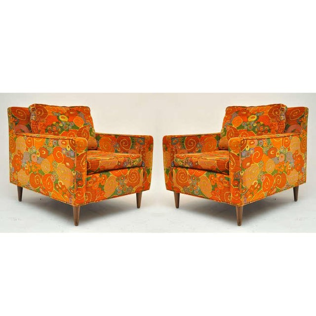 1950s Vintage Harvey Probber Chairs- a Pair For Sale - Image 10 of 11