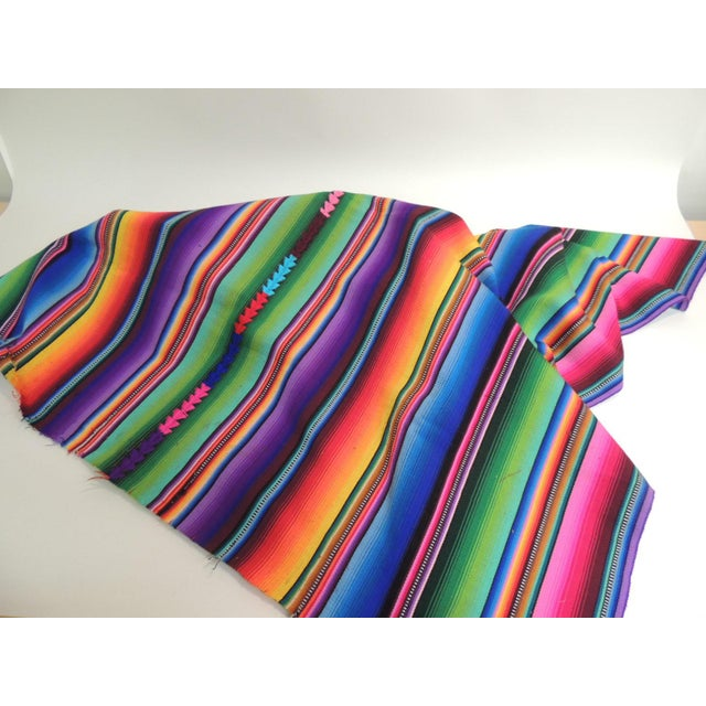 Guatemalan Woven Multi Color Throw - Image 3 of 3