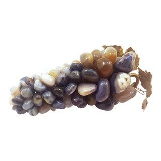 Semi Precious Stone Grape Cluster For Sale
