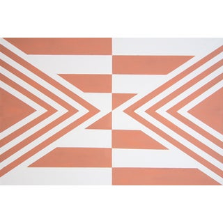 Contemporary Geometric Hard-Edge Painting by Natasha Mistry For Sale