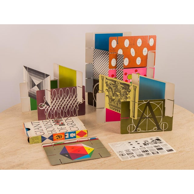 Original 1950s Eames Giant House of Cards For Sale - Image 10 of 10