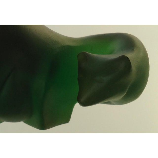 Sascha Brastoff Green Resin Bears - Pair - Image 8 of 8