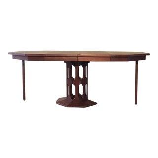 Vintage Scandinavian Harvey Probber Foster McDavid Dining Table For Sale