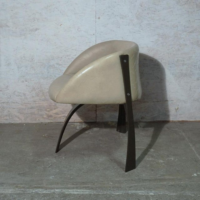 Brutalist Pod Dining Chair For Sale - Image 3 of 10