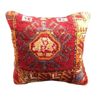 Nomadic Tribal Oushak Pillow Case For Sale