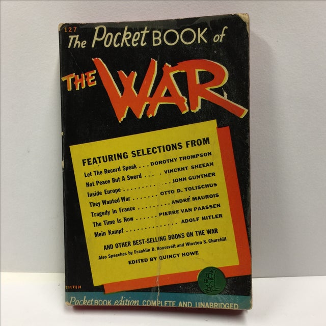 Midcentury expose of the beginnings of World War II. Edited by Quincy Howe with essays by Dorothy Thompson, Vincent...