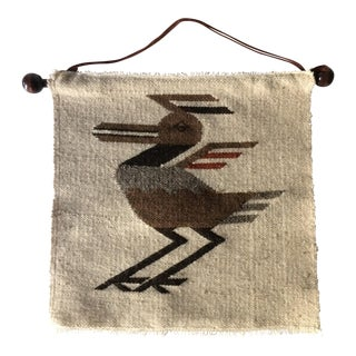 Vintage Southwest Bird Wall Textile