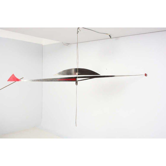 Stainless Steel Hanging Mobile Sculpture For Sale - Image 4 of 10