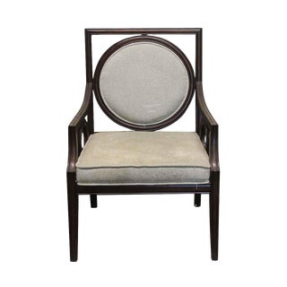 Modern Style Wooden Arm Chair For Sale