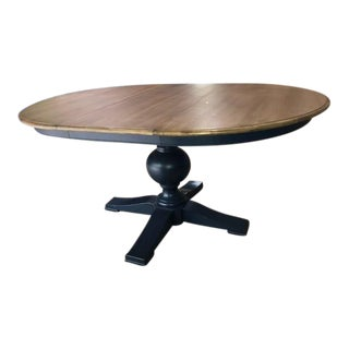 Ethan Allen Cooper Round Dining Table For Sale