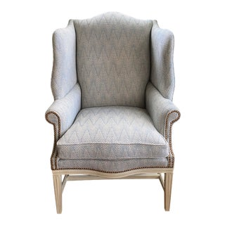 Traditional Upholstered Wingback Chair