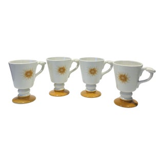 Hall Coffee Cups for Hotel Americana - Set of 4 For Sale