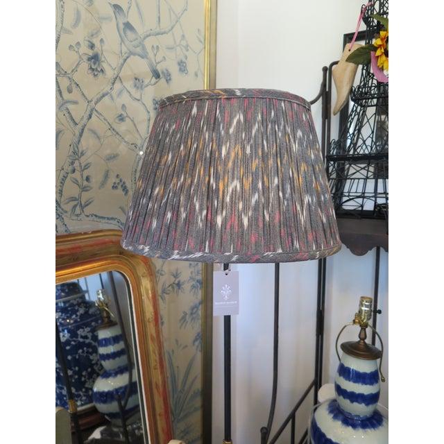 Empire Custom Maison Maison Gathered Lampshade For Sale - Image 3 of 6