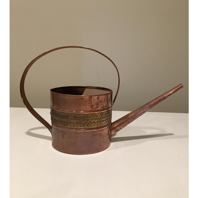 Copper and Brass Watering Can - Image 2 of 7