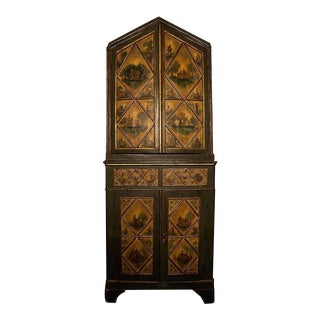 Rare North Italian Arte Povera Cabinet, circa 1780