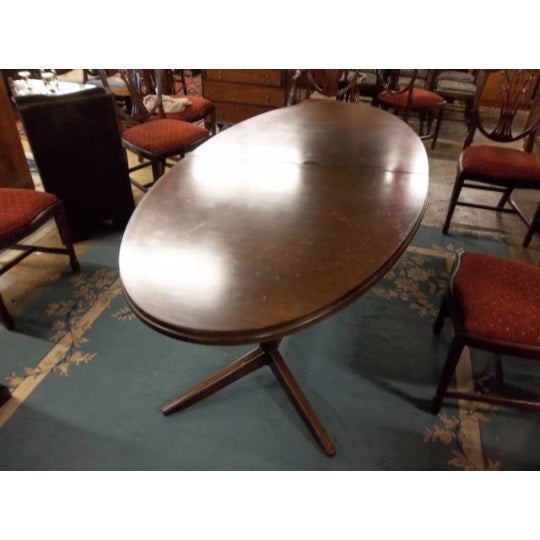 Mahogany Extendable Dining Table - Image 7 of 7