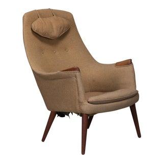 """""""Mama Bear"""" Danish Modern Lounge Chair"""