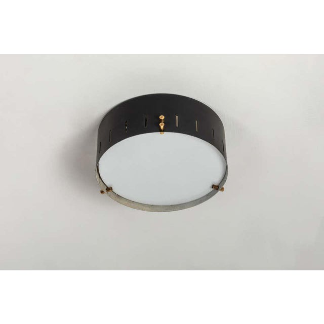 1960s Bruno Gatta Wall or Ceiling Light for Stilnovo For Sale In Los Angeles - Image 6 of 9