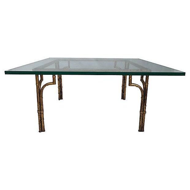 Gilt & Glass Coffee Table - Image 2 of 5