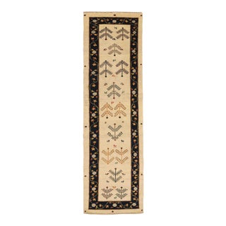 Late 20th Century Persian Runner with Gabbeh Design For Sale