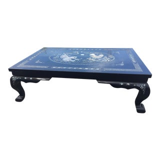 Mother of Pearl Lacquered Table