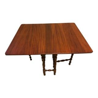 Mahogany Gateleg Table
