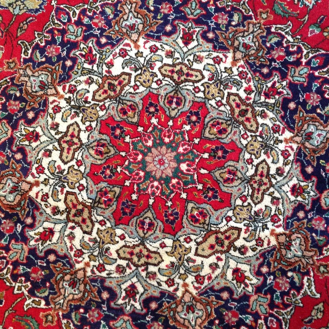 Colorful Kashan Hand-Tied Rug - 13' X 10' - Image 3 of 8