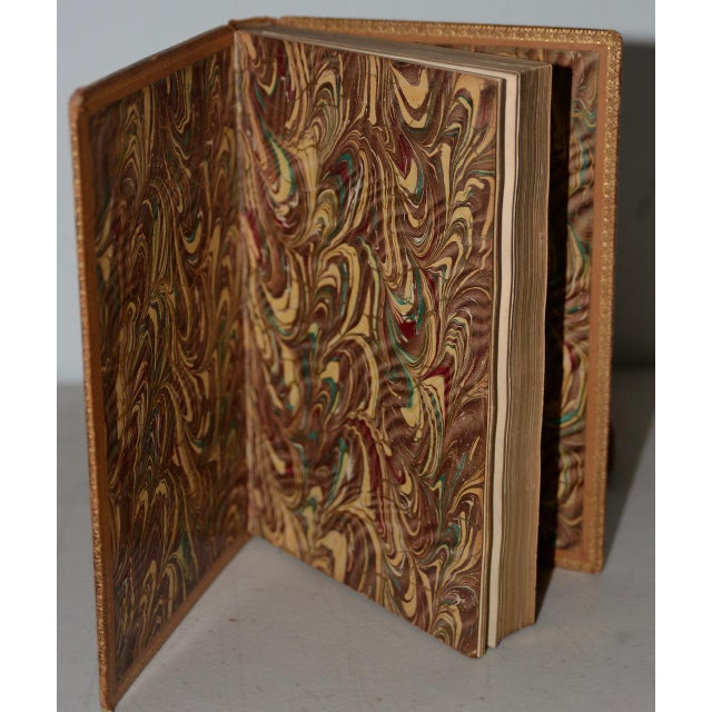 Early 19th Century Leather-Bound Books With Engravings by Rowlandson - a Pair For Sale - Image 4 of 13