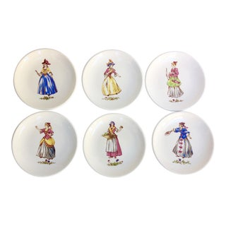 Este Ceramiche Coasters - Set of 6 For Sale