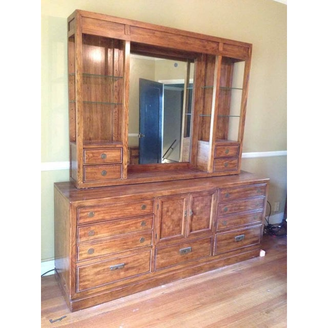 Thomasville Carved Maple Hutch - Image 3 of 7
