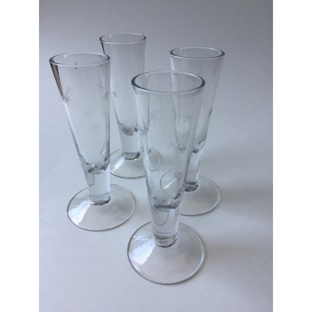 Vintage Mid-Century Shot Glasses - Set of 4 - Image 9 of 9