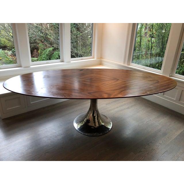 Julian Chichester Dakota Oval Dining Table Chairish