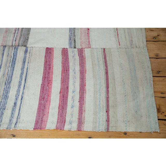 "Vintage Multi-Colored Rag Rug - 7' 7"" x 10' 9"" - Image 2 of 4"