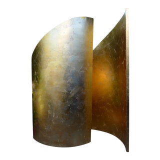 Contemporary Gold Walls Sculpture by Martha Holden For Sale