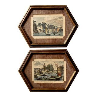 18th-Century French Engravings - A Pair For Sale