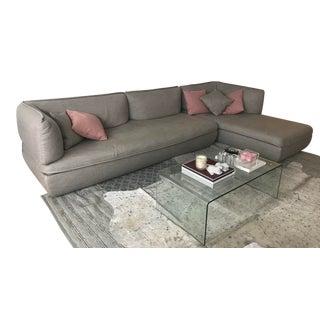 L Shaped Modern Italian Mimic Sofa for DePadova