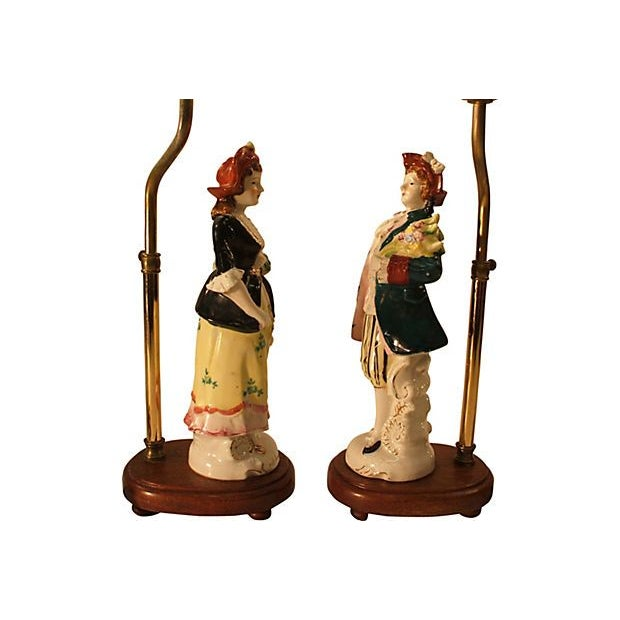 Lord & Lady Lamps - A Pair - Image 7 of 7