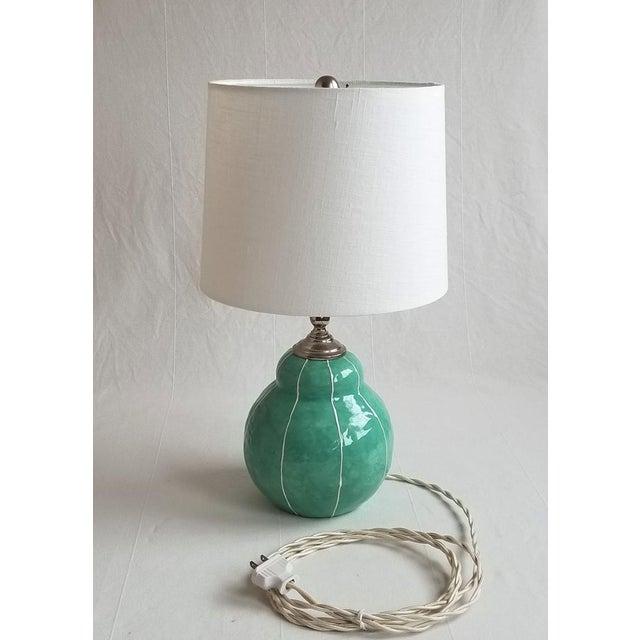 Small Handmade Ceramic Table Lamp - Image 2 of 4