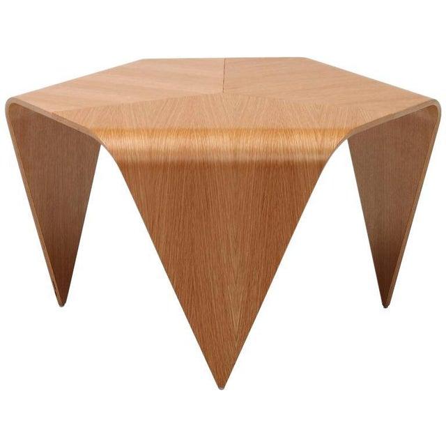 Artek Authentic Trienna Table with Oak Veneer by Ilmari Tapiovaara & Artek For Sale - Image 4 of 4