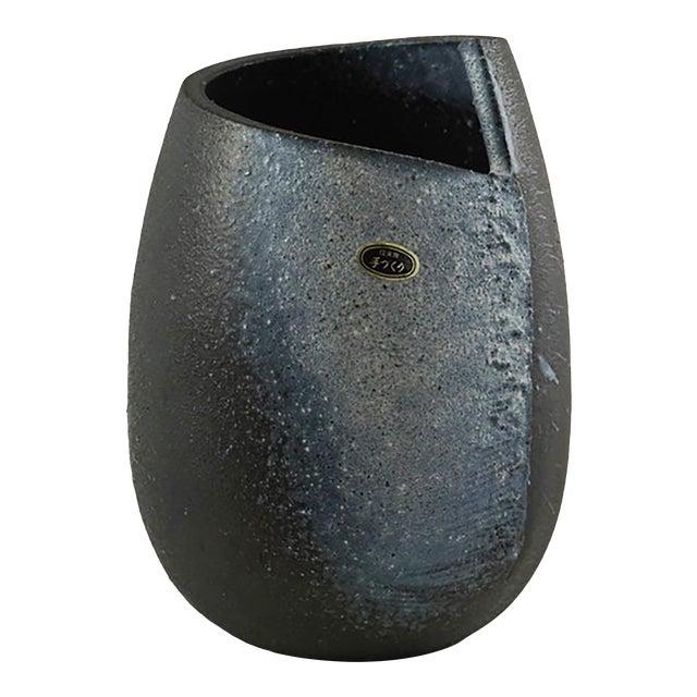 Japanese Black Vessel For Sale