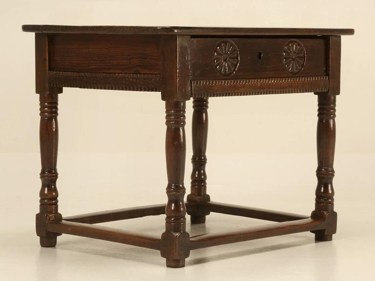 Beau Antique Spanish Side Table For Sale   Image 4 Of 10