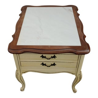 19th Century French Provincial Side Table For Sale