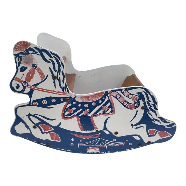 Antique Children's Rocking Horse For Sale