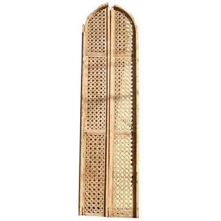 Egyptian Fruit Wood Panels - A Pair