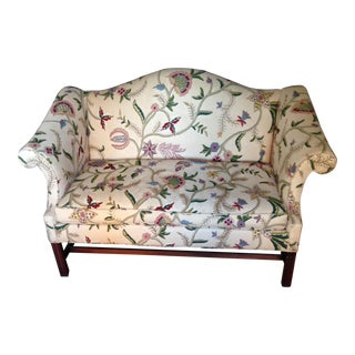 Vintage 1940's W&j Sloane Chippendale Loveseat For Sale
